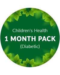 Children's Health 1 month pack for diabetic patients