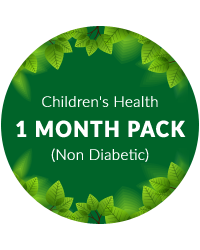 Children's Health 1 month pack for non diabetic patients