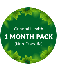 General Health 1 month pack for non Diabetic Patient