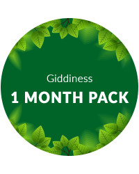 1 Month Pack for Giddiness