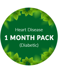 Heart Disease 1 month pack for diabetic patients