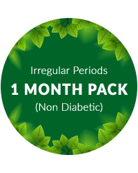 Irregular Periods 1 Month Pack for Non diabetic patients