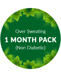 Over Sweating 1 mth pack for non diabetic patients