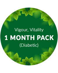 Vigour, Vitality 1 month pack for Diabetic Patients