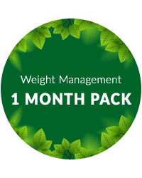 Weight Management 1 month pack