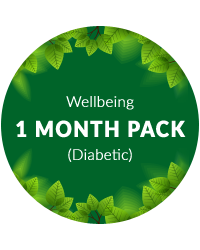 Wellbeing 1 month pack for Diabetic Patients