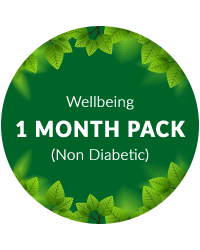 Wellbeing 1 month pack for Non Diabetic Patients