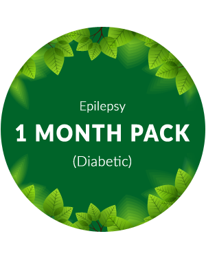 Epilepsy 1 month pack for diabetic Patients
