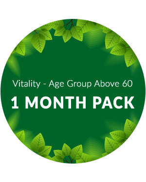 Vitality Age above 60 - 1 month pack
